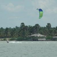 Photo taken at Wind4Love Kitesurfing School Sri Lanka by WIND4LOVE KiteSurfing Sri Lanka / kite school and Accommodation in Kalpitiya / on 12/28/2013