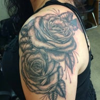 Photo taken at Righno Tattoos by Righno G. on 8/19/2015