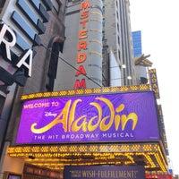 Foto tomada en Aladdin @ New Amsterdam Theatre por Todd C. el 9/2/2018