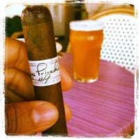 Photo taken at Churchill's Cigar Lounge by Michael M. on 9/25/2014