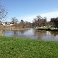 Photo taken at Croswell Swinging Bridge by Xavier R. on 4/27/2013