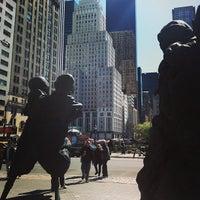 Photo taken at Doris C. Freedman Plaza by Samuel M. on 4/22/2013