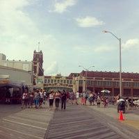 Photo taken at Asbury Park Boardwalk by Samuel M. on 6/3/2013