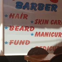 Photo taken at Lotus Barber by Zafer A. on 8/31/2014