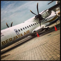 Photo taken at Redang Island Airport (RDN) by Damian R. on 8/12/2013