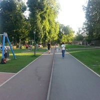 Photo taken at Parcul Central by Giorgii V. on 7/21/2014