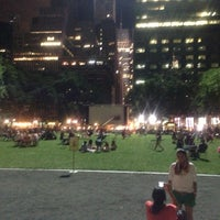 Photo taken at Bryant Park Grill by Senem Z. on 6/9/2013
