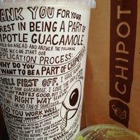 Photo taken at Chipotle Mexican Grill by Bob C. on 8/15/2013