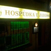 Photo taken at Hospůdka u Jaróša by Jean H. on 5/10/2014
