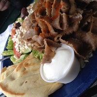 Photo taken at Santorini Greek Grill by chris l. on 5/17/2014
