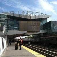 Photo taken at JFK AirTrain - Howard Beach by Huey O. on 9/3/2013