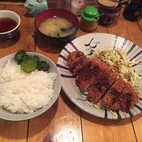 Photo taken at とんかつ かつ屋 by Yuji A. on 2/28/2017