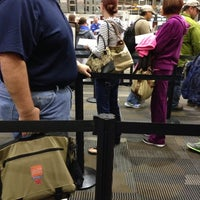 Photo taken at Airside C Security by Tiffany R. on 12/26/2013