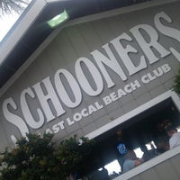 Photo taken at Schooners by Derek K. on 6/8/2013