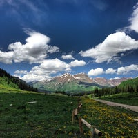 Photo taken at Gothic, CO by Carl O. on 6/15/2013
