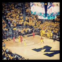 Photo taken at Crisler Center by Mike H. on 2/6/2013