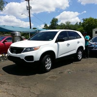 Photo taken at Super Magic Hand Car Wash by @tatsnmuscle . on 5/29/2014