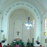 Photo taken at Kapel Hati Kudus Yesus by Lorensius L. on 9/21/2014