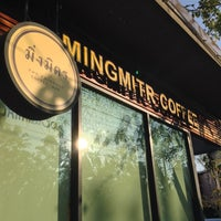 Photo taken at Mingmitr Coffee by Pukkaa W. on 2/15/2014