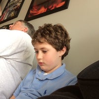 Photo taken at Sport Clips Haircuts of Allen by david b. on 3/9/2014