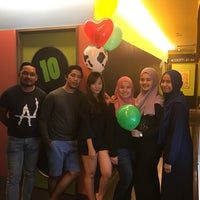 Photo taken at Green Box Karaoke by Nabila L. on 11/17/2016