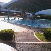 Photo taken at ATLANTIS swimming pool by Setio S. on 2/22/2014