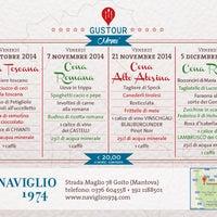 Foto scattata a Ristorante Naviglio 1974 da Ristorante Naviglio 1974 il 10/21/2014