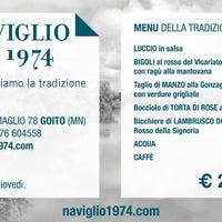Foto scattata a Ristorante Naviglio 1974 da Ristorante Naviglio 1974 il 5/30/2014