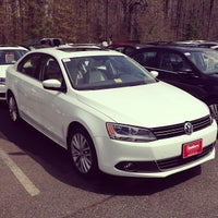 Photo taken at Southern Volkswagen at Greenbrier by Jay P. on 4/8/2013