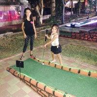 Photo taken at Alanya mini golf park by Funda D. on 7/20/2015