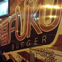 Photo taken at Fukuburger Truck by Scott H. on 7/20/2014