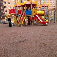 Photo taken at Детская Площадка Ленинградская д.3 by Sofi👼angel on 3/9/2014