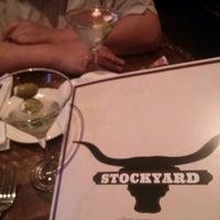 Photo taken at Stockyard Food & Spirit by Jill G. on 4/22/2013