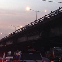 Photo taken at Bang Phlat Flyover by Pucca L. on 2/7/2016