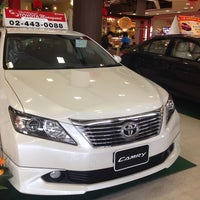 Photo taken at Toyota Nonthaburi by Pucca L. on 1/25/2014