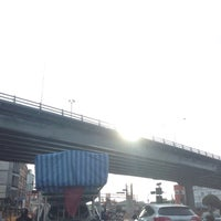 Photo taken at Bang Phlat Flyover by Pucca L. on 2/11/2016