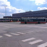 Photo taken at Garáže Hostivař (bus) by Jan H. on 6/13/2014