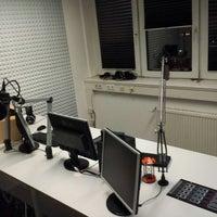 Photo taken at Radio Ostfriesland Studio Emden by XLarge K. on 12/20/2014