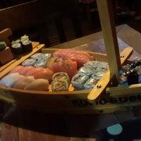 Photo taken at Kumo Sushi by Gabriel C. on 1/10/2015