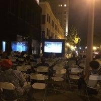 Photo taken at Movie Night by James C. on 7/31/2014