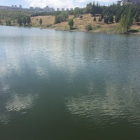 Photo taken at Bilkent Gölü by Gökhan C. on 8/17/2016