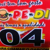Photo taken at Po-Pe-Di Lanches by Vitor D. on 1/2/2014