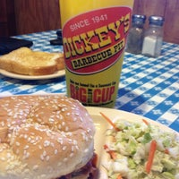 Photo taken at Dickey's Barbecue Pit by Julie B. on 3/27/2013