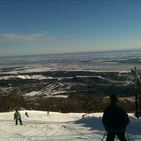 Photo taken at Mont-Sainte-Anne by Mark on 12/31/2012