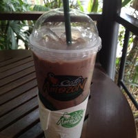 Photo taken at Cafe' Amazon PTT ชากพง by Wat B. on 6/1/2015