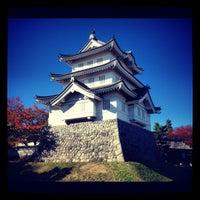 Photo taken at 忍城址 by AKI-san on 11/10/2012