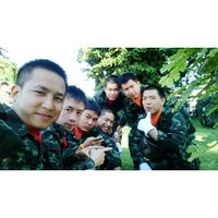 Photo taken at สโมสรบันเทิงทัพ by Jae R P. on 10/31/2014