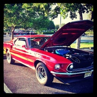Photo taken at Tower Shops Car Show by Jonathan B. on 10/19/2012
