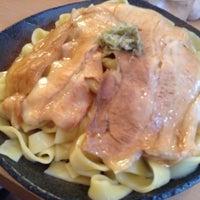Photo taken at とろ肉つけ麺 魚とん by rino 8. on 4/30/2013