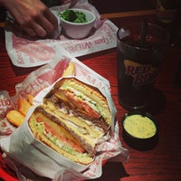Photo taken at Red Robin Gourmet Burgers by Don K. on 6/5/2013